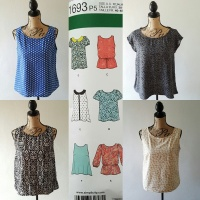 Simplicity 1693- summer tanks