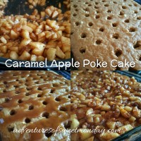 A Perfect Dessert for Fall: The Caramel Apple Poke Cake