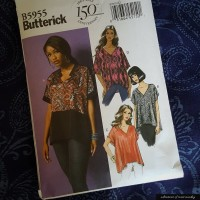 B5955 Butterick pattern review