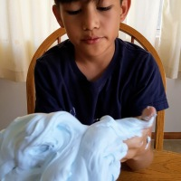 It's all the rage DIY fluffy slime