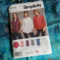 Simplicity 8131- My favorite pattern this year