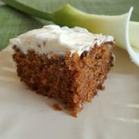 An Adapted Carrot Cake Recipe by Paula Deen- Quarantine Style