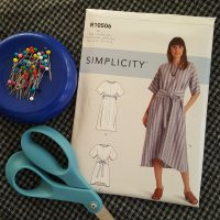 Simplicity 9101- a 90's vibe dress