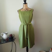 New Look 6446- A Green Linen Sundress