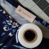 How to attach a sewing label without stitching
